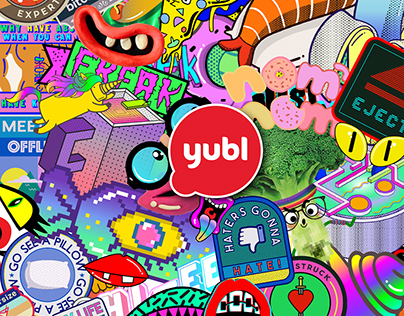 Yubl Stickers