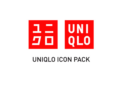 UNIQLO Icon Pack