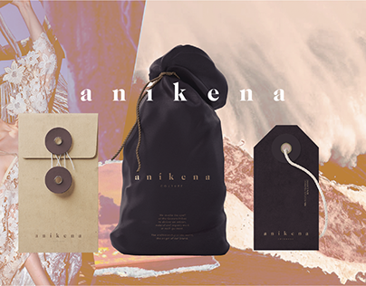 Branding & Design | Aníkena: Fashion brand