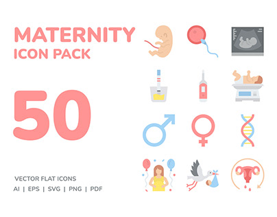 Maternity Icon Pack