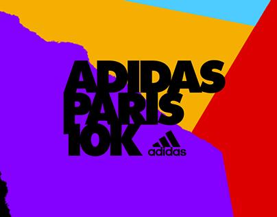ADIDAS PARIS 10K - SOCIAL CONTENT