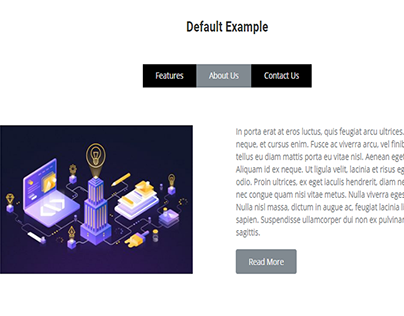 Tabs element by WordPress
