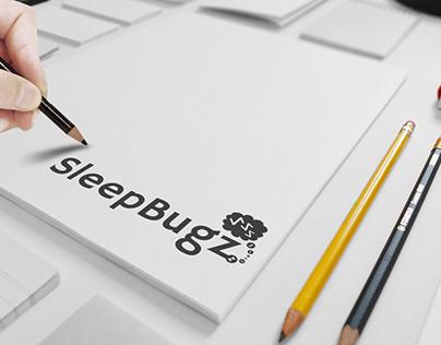 """Increasing sleep electronic product Logo """"SleepBugz"""""""