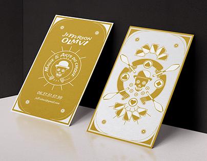 Jefferson Olmvi - Visit / Game card