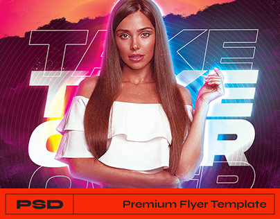 DJ Party Flyer - Photoshop Template