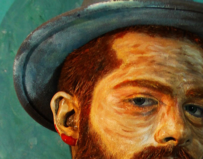BODY ART VIDEO - Van Gogh