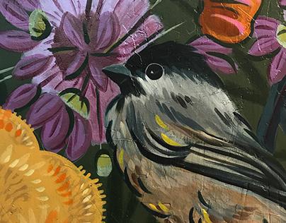 Utah Flora & Fauna Mural