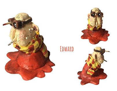 Edward - sculpture