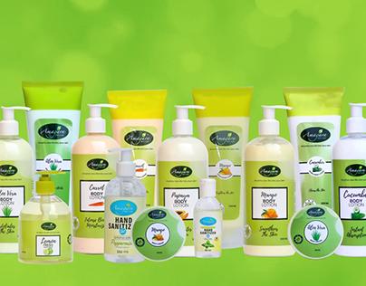 Product Launch Ad - Amagara Skin Care