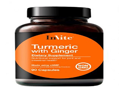 Turmeric with Ginger Nutritional Dietary Supplement