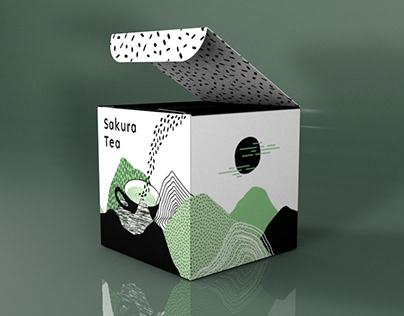 Sakura tea - Modélisation 3D