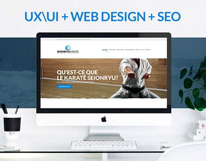 UX/UI + Web Design + SEO - Seionryu Karate
