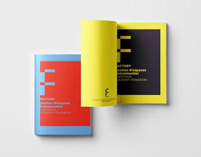 Branding Identity & Book Design for Factory