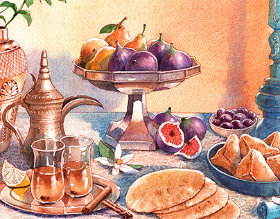 Arabic Food book cover