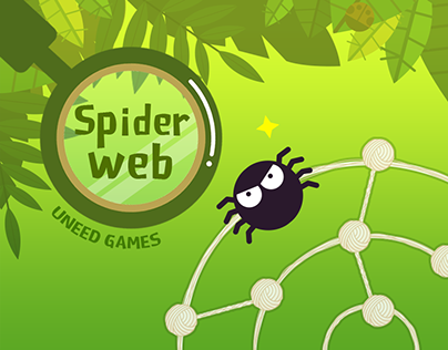 spider web---uneed games produced