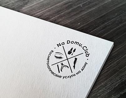 Логотип для компании косметологических услуг на дому