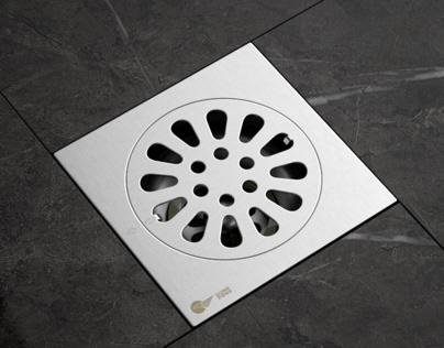 Floor Drain  Full CGI