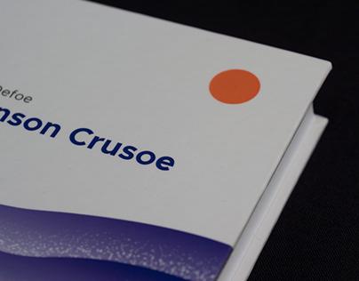 Robinson Crusoe book re-design