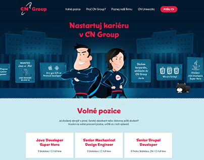 CN Group HR microsite