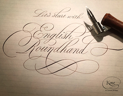 A cover page of a calligraphy workshop