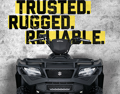 Suzuki KingQuad Campaign