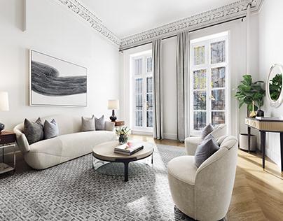 Interior design, New York