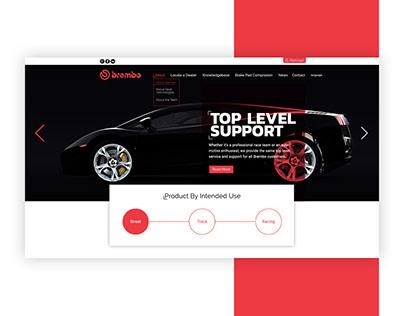 Brembo (Web Design)