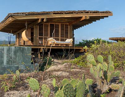Punta Pajaros in Oaxaca, Mexico by Alberto Kalach / TAX