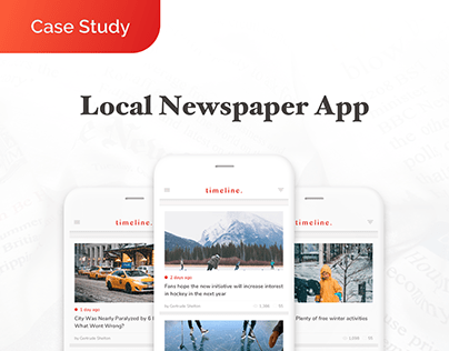 Case Study for a local newspaper