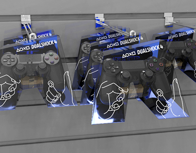 Dualshock 4 Wireless Game Controller Package Redesign