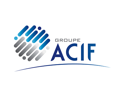 Groupe Acif - Identity corporate (print et web)