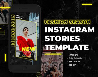 DOWNLOAD - 5 FSHN SZN Instagram Stories Template