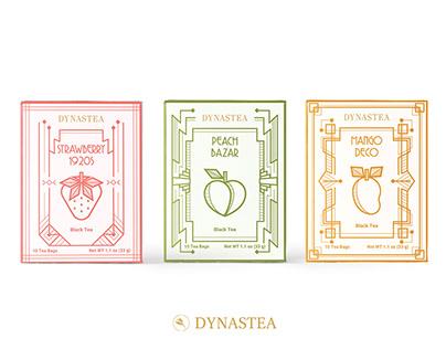 DYNASTEA Tea -Packaging Design