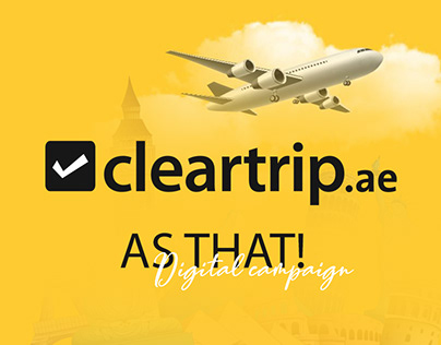 Cleartrip   As that! campaign