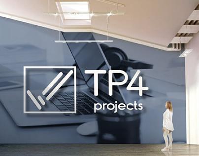 TP4 Projects Ltd | Brand Identity Design