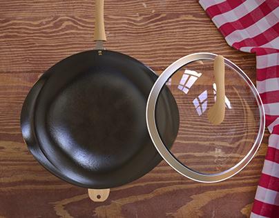 Shaped Surface Pan