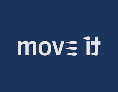 Identidade Visual - Academia Move it