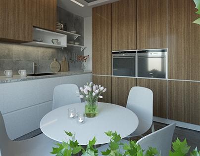 Moskov flat 70-001