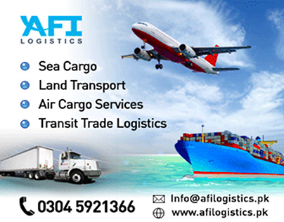 AFI Logistics Animated Banner