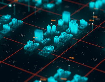 Hologram City Interface