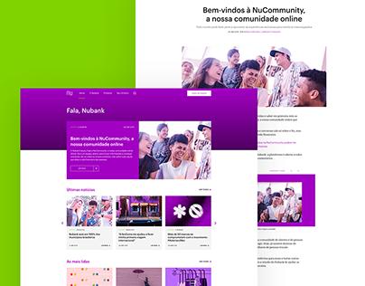 Fala, Nubank - Web Concept