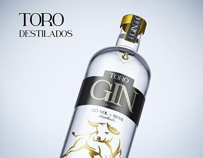 Garrafa de Gin - Toro Destilados