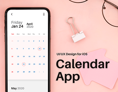 Minimalistic Calendar App