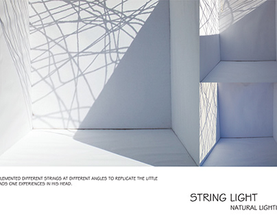 3rd Yr Project - Light & Space