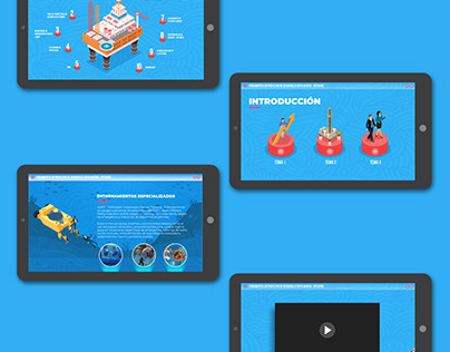 Diseño e-learning Offshore