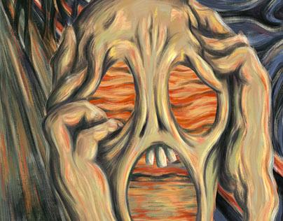 The Adobe 5th Scream Contest #MunchContest