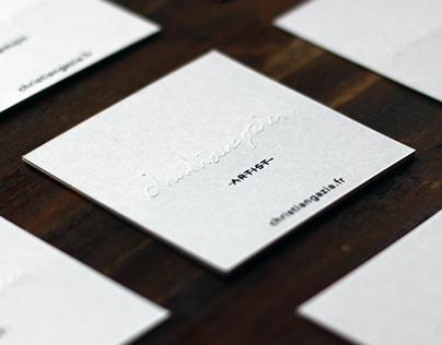 Business Card - Christian Gazia
