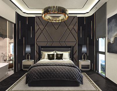 Master bedroom (simple house)