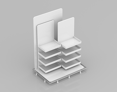 3D Retail Stand