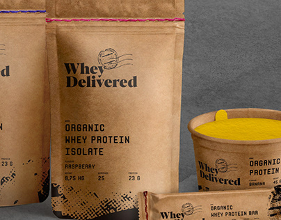 FOR SALE organic whey supplements sustainable packaging